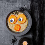 Scary PersiMon® and Blueberry Porridge